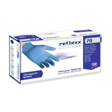 RUKAVICE NITRILE NEPUDRANE REFLEXX 70 100/1